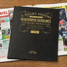International Rugby History - Newspaper Book